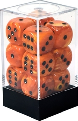 12D6, ORANGE WITH BLACK -  VORTEX