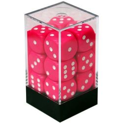 12D6, PINK / WHITE -  OPAQUE