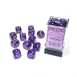 12D6, ROYAL PURPLE WITH GOLD - GLOW IN THE DARK -  BOREALIS