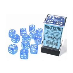 12D6, SKY BLUE WITH WHITE - GLOW IN THE DARK -  BOREALIS