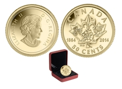 150TH ANNIVERSARY OF QUEBEC AND CHARLOTTETOWN CONFERENCES -  2014 CANADIAN COINS