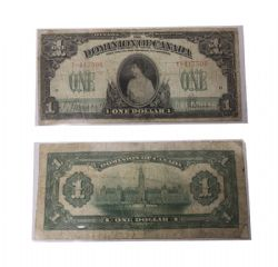 1917 -  1917 1-DOLLAR NOTE,SAUNDERS     (AU)