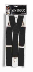 1920 -  SUSPENDERS - BLACK