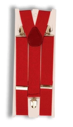 1920 -  SUSPENDERS - RED