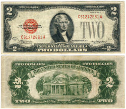 1928 -  UNITED STATES 2-DOLLAR BILL