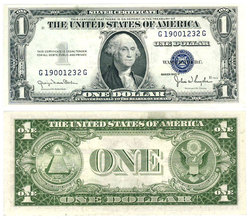 1935 -  1 DOLLAR  OF THE UNITED STATES (EF)