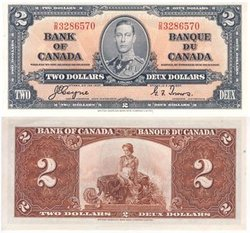 1937 -  1937 2-DOLLAR NOTE, COYNE/TOWERS (AU)
