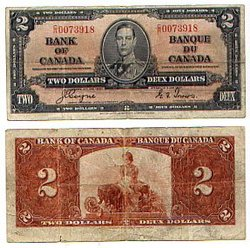 1937 -  1937 2-DOLLAR NOTE, COYNE/TOWERS (F)