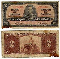 1937 -  1937 2-DOLLAR NOTE, GORDON/TOWERS (G)