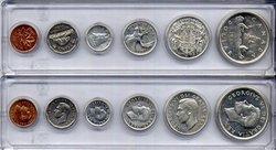 1953-79 -  1950 CIRCULATION COIN SET