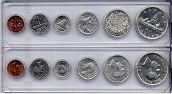 1953-79 -  1951 CIRCULATION COIN SET