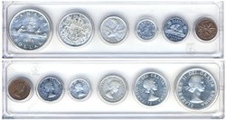 1953-79 -  1954 CIRCULATION COIN SET