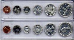 1953-79 -  1956 CIRCULATION COIN PROOF-LIKE SET