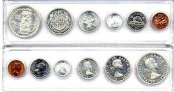 1953-79 -  1958 CIRCULATION COIN SET