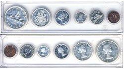 1953-79 -  1959 CIRCULATION COIN SET