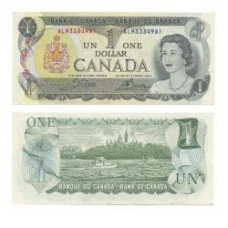 1973 -  1973 1-DOLLAR NOTE, CROW/BOUEY (AU)