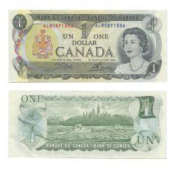 1973 -  1973 1-DOLLAR NOTE, CROW/BOUEY (EF)