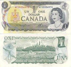 1973 -  1973 1-DOLLAR NOTE, LAWSON/BOUEY (AU)