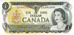 1973 -  1973 1-DOLLAR NOTE, LAWSON/BOUEY (GUNC)