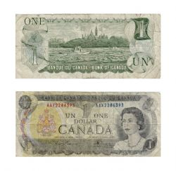 1973 -  1973 1-DOLLAR NOTE, LAWSON/BOUEY (G)