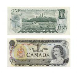 1973 -  1973 1-DOLLAR NOTE, LAWSON/BOUEY (UNC)