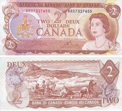 1974 -  1974 2-DOLLAR NOTE, CROW/BOUEY (AU)