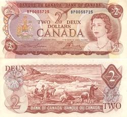 1974 -  1974 2-DOLLAR NOTE, LAWSON/BOUEY (AU)