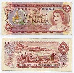 1974 -  1974 2-DOLLAR NOTE, LAWSON/BOUEY (EF)