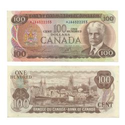 1975 -  1975 100-DOLLAR NOTE, LAWSON/BOUEY (EF)