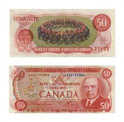 1975 -  1975 50-DOLLAR NOTE, LAWSON/BOUEY (F)