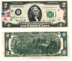 1976 -  UNITED STATES 1976 2-DOLLAR BILL, PACK OF 25 NOTES (UNC)