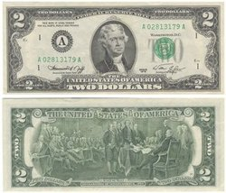 1976 -  UNITED STATES 2-DOLLAR BILL