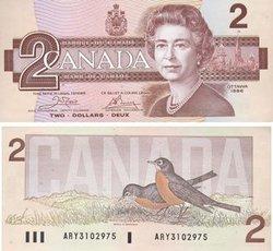1986 -  1986 2-DOLLAR NOTE, CROW/BOUEY (UNC)