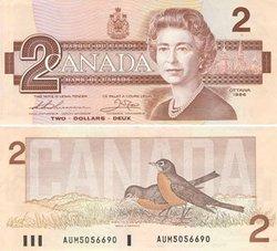 1986 -  1986 2-DOLLAR NOTE, THIESSEN/CROW (AU)