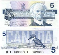 1986 -  1986 5-DOLLAR NOTE, KNIGHT/DODGE (AU)