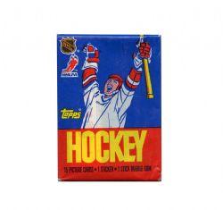 1986-87 HOCKEY -  TOPPS WAX PACK (P15 + 1)