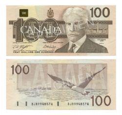 1988 -  1988 100-DOLLAR NOTE, KNIGHT/DODGE (EF)