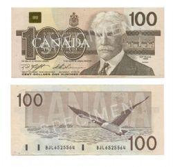 1988 -  1988 100-DOLLAR NOTE, KNIGHT/THIESSEN (EF)
