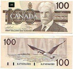 1988 -  1988 100-DOLLAR NOTE, THIESSEN/CROW (AU)