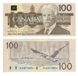1988 -  1988 100-DOLLAR NOTE, THIESSEN/CROW (EF)