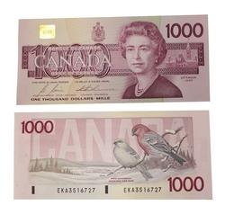 1988 -  1988 1000-DOLLAR NOTE, BONIN/THIESSEN (AU)