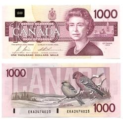 1988 -  1988 1000-DOLLAR NOTE, BONIN/THIESSEN (CUNC)