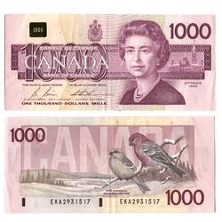 1988 -  1988 1000-DOLLAR NOTE, BONIN/THIESSEN (F)