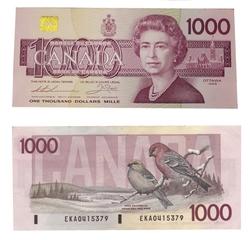 1988 -  1988 1000-DOLLAR NOTE, THIESSEN/CROW (AU)