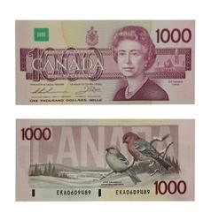 1988 -  1988 1000-DOLLAR NOTE, THIESSEN/CROW (CUNC)