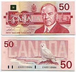 1988 -  1988 50-DOLLAR NOTE, THIESSEN/CROW (AU)
