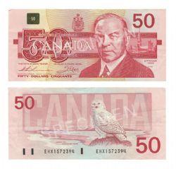 1988 -  1988 50-DOLLAR NOTE, THIESSEN/CROW (VF)