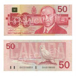 1988 -  1988 50-DOLLAR NOTE, THIESSEN/CROW (VG)