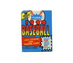 1990 BASEBALL -  FLEER - WAX PACK (15)