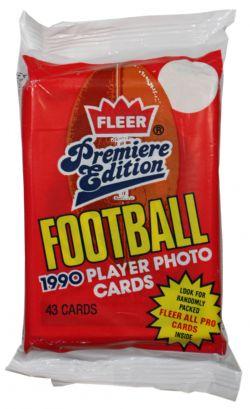 1990 FOOTBALL -  FLEER - PREMIERE EDITION